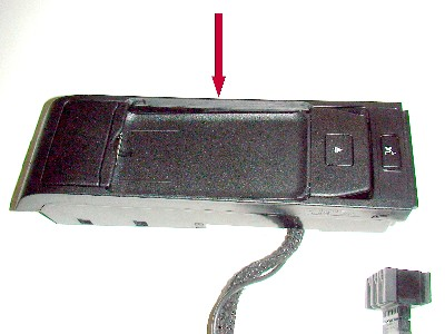 snap in inside eject box